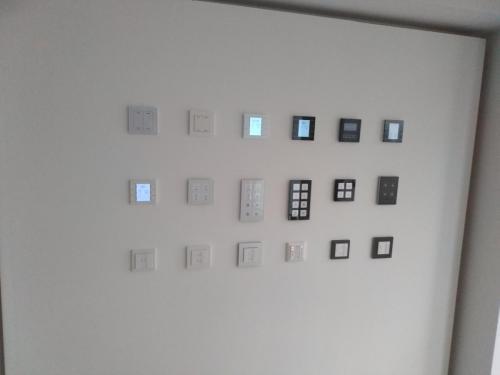 Ausstellung von KNX Tastern